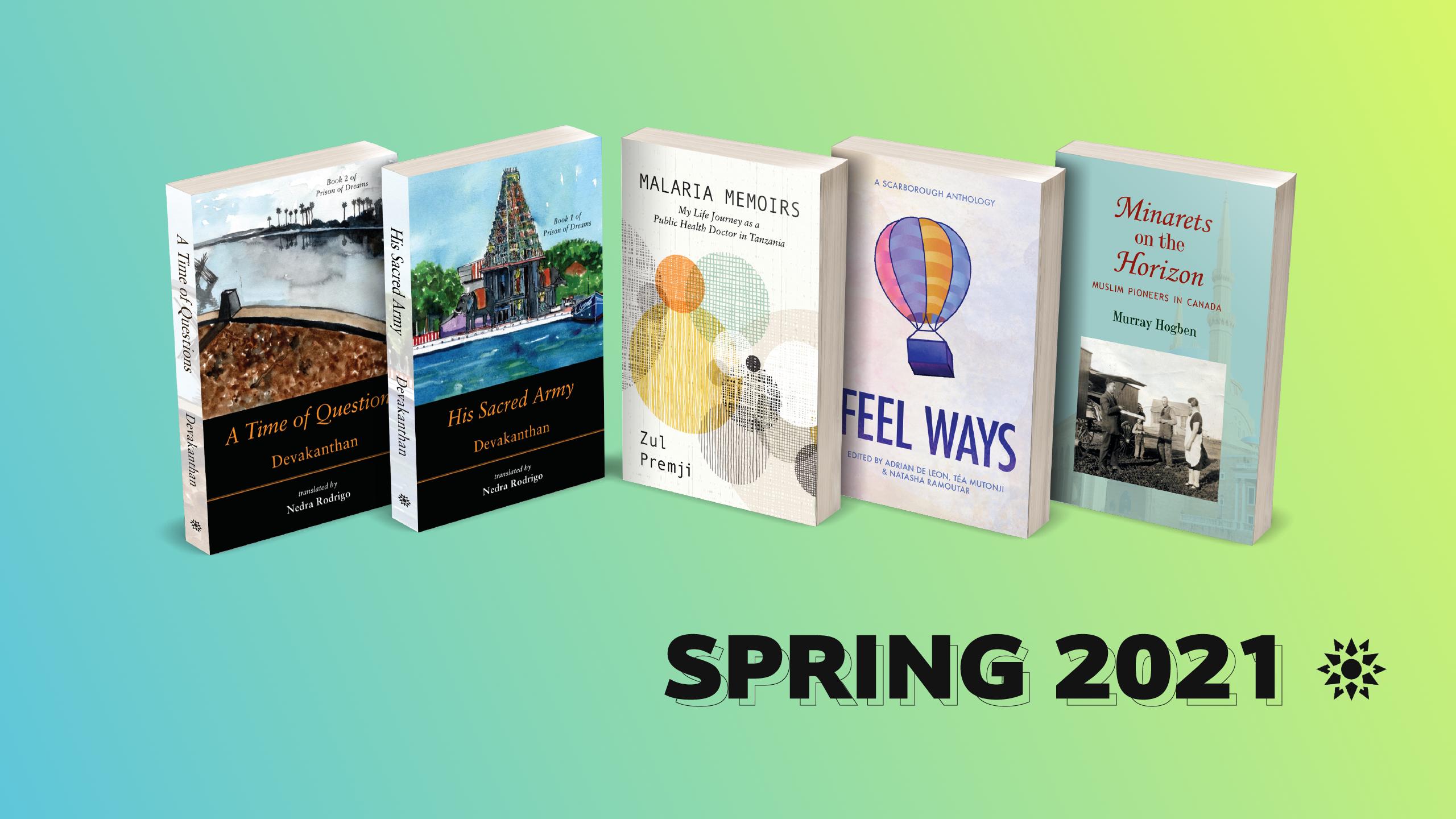 Spring titles 2021
